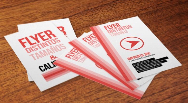 Flyer - Imprenta 360