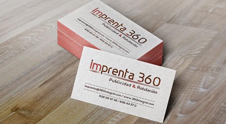 Tarjetas de visita - Imprenta 360